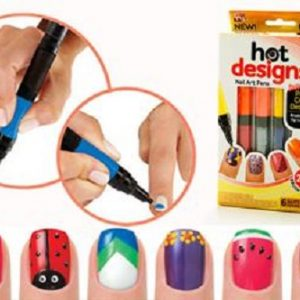 Hot Designs - Set lakova i olovaka za Nail Art