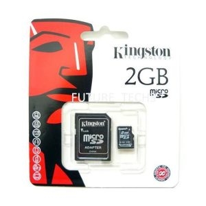 Kingston Micro SD kartica 2GB + SD adapter