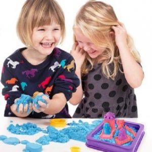 Kreativni Set sa čarobnim peskom za igranje i oblikovanje