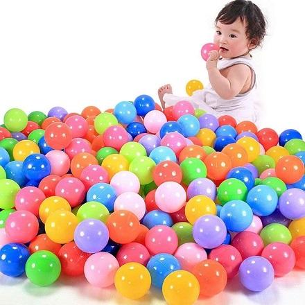 Šarene loptice za igru- plasticne loptice za igraonicu - 100 komada_245