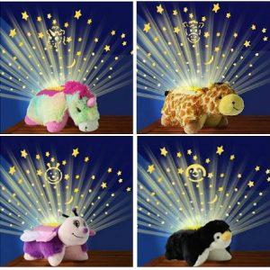 Svetleći jastuk/lampa - Zvezdani pingvin, meda, jednorog, pčelica ili žirafa_358