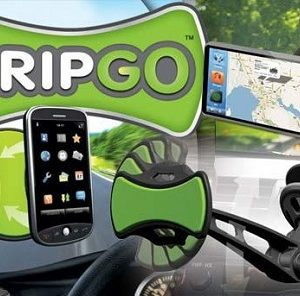 GripGo - držač mobilnih telefona, tableta i GPS uređaja u automobilu