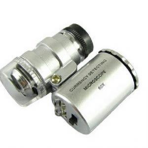 Mikroskop minijaturnih dimenzija 50x - 2LED i UV osvetljenje_245