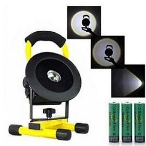 Prenosni LED reflektor 30w sa punjivim baterijama