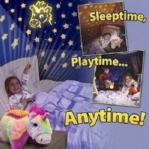 Svetleći jastuk/lampa - Zvezdani pingvin, meda, jednorog, pčelica ili žirafa_359