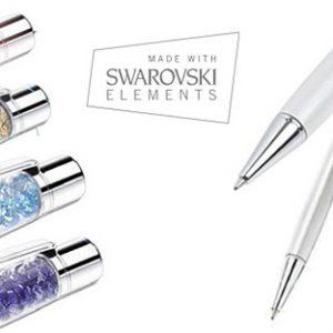 Swarovski elements - Olovka sa Kristalima