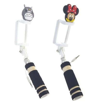 MINI monopod štap za selfi - Sova ili Minnie Mouse_2
