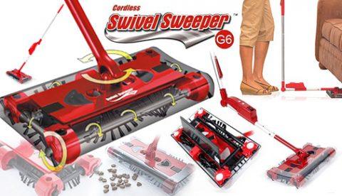 Super bežični usisivač i Aspirator - Swivel Sweeper
