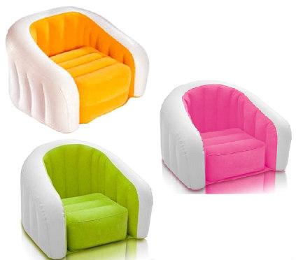 INTEX fotelje za decu na naduvavanje - Zelena, Roze ili Narandžasta_235