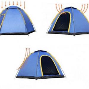 Šator za kampovanje, planinarenje izlet za 6 osoba_3