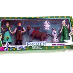 Frozen Fever - Set od 6 figurica