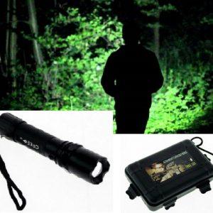 LED Lampa Cree Q5 30000W sa Zoom-om