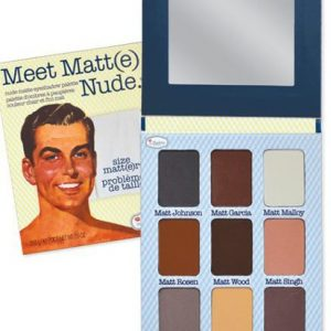 Meet Matt(e) Nude Paleta Senki