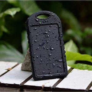 Solarni vodootporni punjač mobilnih telefona - 5000mAh