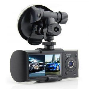 Dual Auto kamera i GPS - PROFI