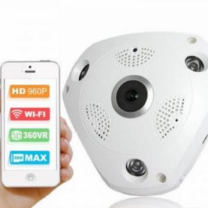 VR 360 IP panoramska kamera - wifi kamera za video nadzor_4