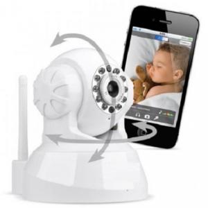Veoma kvalitetna baby monitor dan/noć IP kamera sa Wi-Fi adapterom_114