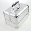 Veliki metalni kofer za šminku, nakit za pregradama_2