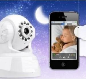Veoma kvalitetna baby monitor dan/noć IP kamera sa Wi-Fi adapterom_113