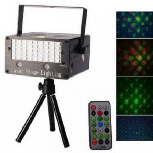 Laser Stage Lighting + LED STROBOSKOP u raznim bojama - rasveta i oprema za diskoteke i kafiće_1