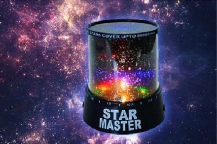 Sobna lampa ZVEZDANO NEBO - Star Master_2