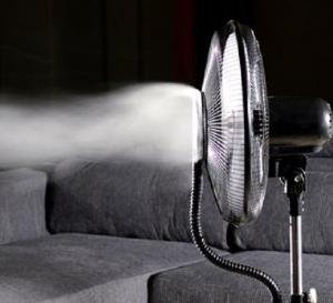 Kućni ventilator sa vodenim raspršivačem - raspršivač vodene pare_2