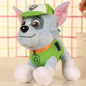 Paw Patrol – patrolne šape muzička plišana igračka Rocky_1