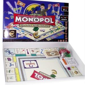 Monopol NA SRPSKOM 2- društvena igra_2