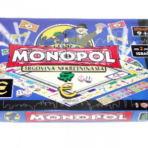 Monopol NA SRPSKOM 2- društvena igra_1