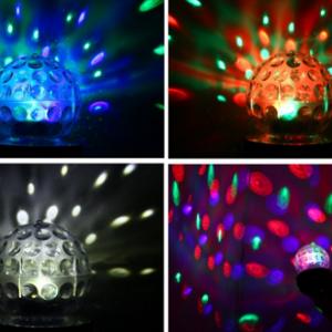 Rotirajuća LED Disko Kugla, MP3, Radio 6r