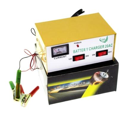 Punjač za akumulator 12-24V 20A 323