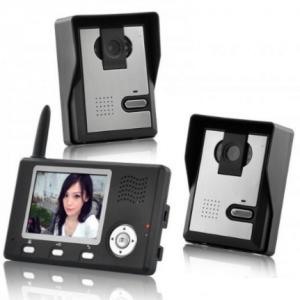 Bežični video telefon/interfon za vrata - 2.4 Ghz digital_1