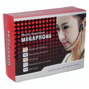 Multi-funkcionalni megafon t8orij