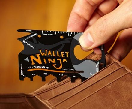 Ninja Wallet 18u1 - Multifunkcionalna alat kartica