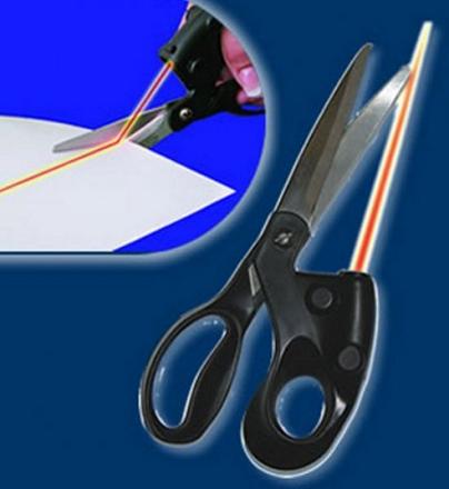 Makaze sa ugrađenim laserom_1