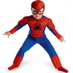 Kostim SPIDERMAN sa Misicima za Decake - NOVO 1