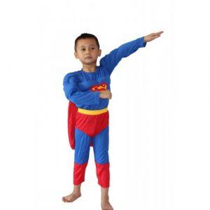 Kostim SUPERMAN sa Misicima za Decake - NOVO 1