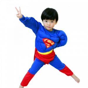 Kostim SUPERMAN sa Misicima za Decake - NOVO 2