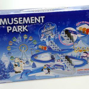 Veseli pingvini na ledu igracka set_1