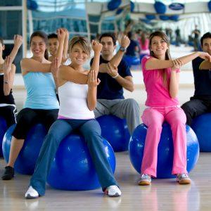Pilates Lopte za vežbanje - 55cm