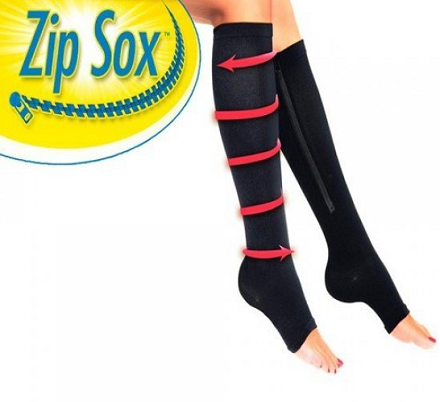 Zip Sox - Kompresione čarape sa ziperom_1