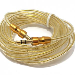 Audio AUX kabal 3m zlatni