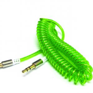 Audio AUX kabal SPRING zeleni