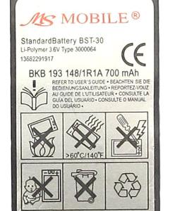 Baterija za Sony Ericsson K700 Extreme 2
