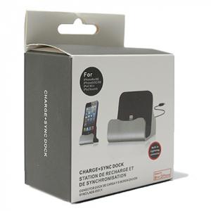 Dock micro sa USB kablom crni 2