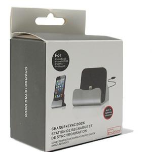 Dock micro sa USB kablom srebrni 2