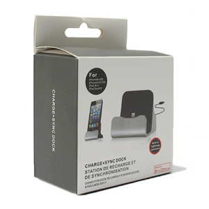 Dock za Iphone 5G 5S 6G 6S sa USB kablom roze - 2