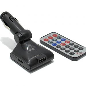 FM Modulator MP3 6in1 816C sivi - 2