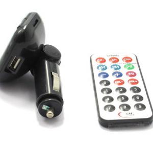 FM Modulator MP3 6in1 819B crni - 2