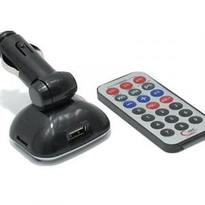 FM Modulator MP3 6in1 819B sivi - 2